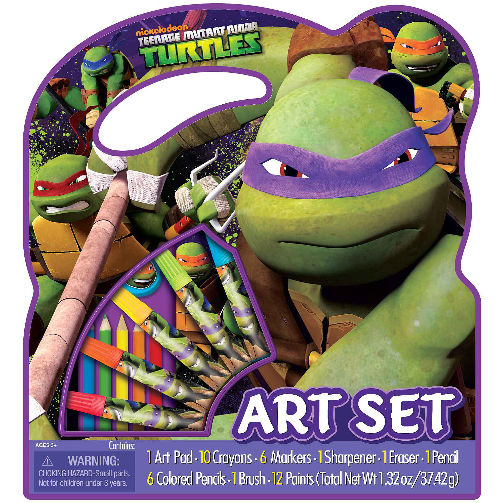 Nickelodeon Teenage Mutant Ninja Turtles Large Character Case