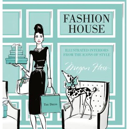 Fashion House : Illustrated Interiors from the Icons of (Interior Design Of House In Indian Style)
