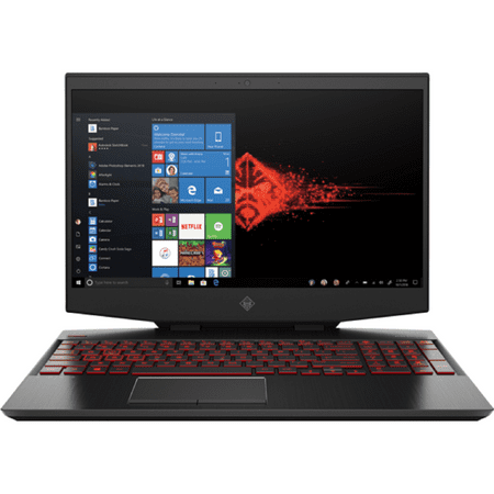 "HP OMEN 15 Gaming and Entertainment Laptop (Intel i9-9880H 8-Core, 32GB RAM, 1TB PCIe SSD + 1TB  HDD, 15.6"" 4K UHD (3840x2160), NVIDIA RTX 2080 (Max-Q), Wifi, Bluetooth, Webcam, Win 10 Home)"