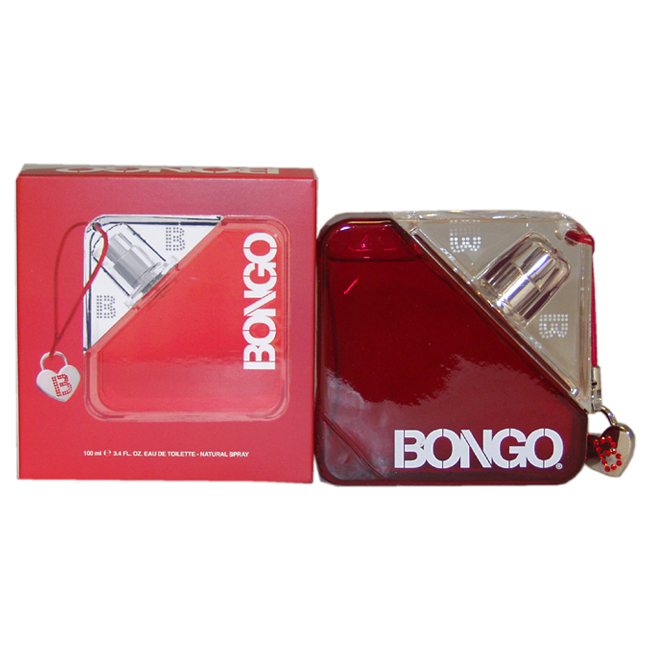 First American Brands Bongo Eau de toilette Spray For Women 3.4 oz