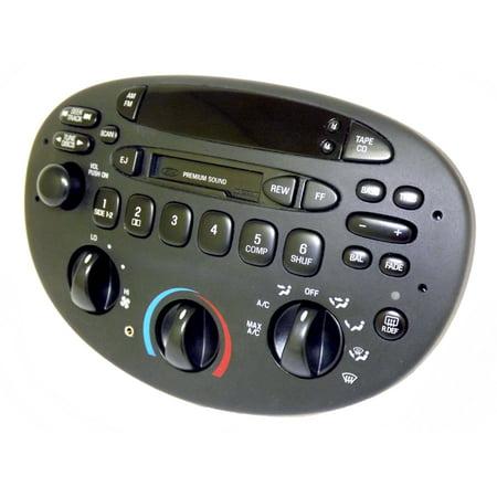 Ford Escort Mercury Tracer 1997 - 2003 AMFM CS Premium Radio w Aux Input CD Ctrl - (2003 Ford Escort Radiator)