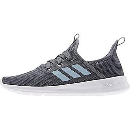 adidas Women's Cloudfoam Pure Running Shoe, OnixAsh GreyShock Pink, 7 Medium US