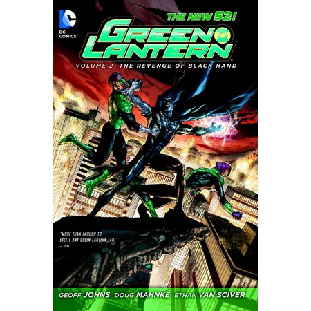 Hand Signed Green - Green Lantern Vol. 2: The Revenge of Black Hand (The New 52)