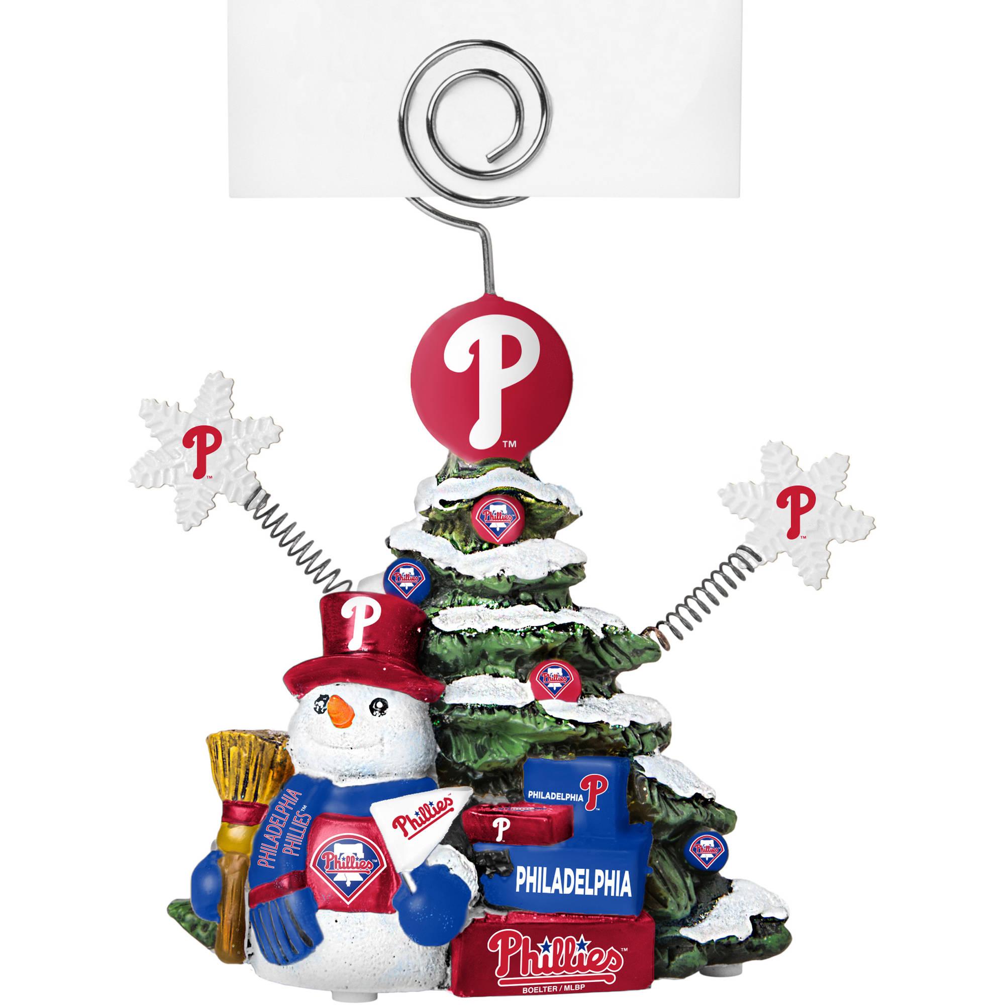 Topperscot by Boelter Brands MLB Tree Photo Holder, Philadelphia Phillies