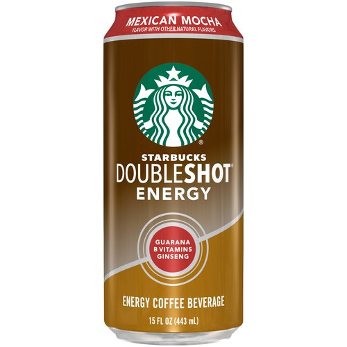 Starbucks Doubleshot Energy Mexican Mocha Energy Coffee Beverage, 15 fl oz