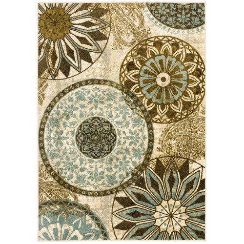 Mohawk Home New Wave Inspired India Printed Area Rug