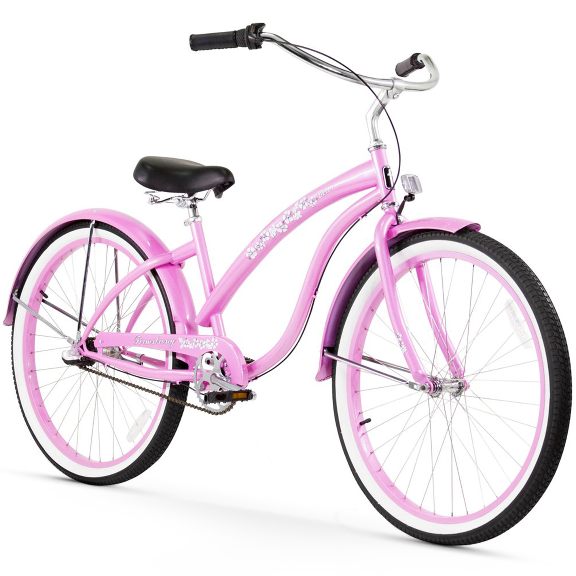 """Firmstrong 26"""" Women's Bella Classic Beach Cruiser Bicycle with 1, 3 and 7 Speed Options"""