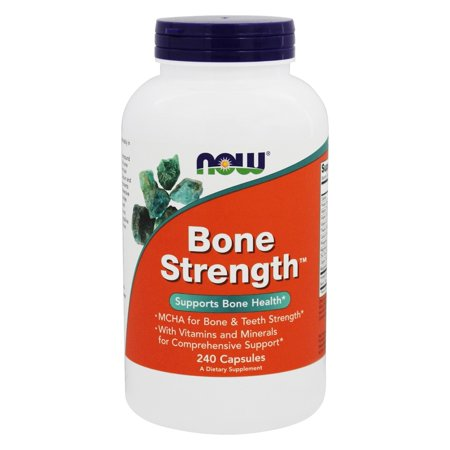 NOW Foods - Bone Strength - 240 Capsules Bone Up 240 Capsules