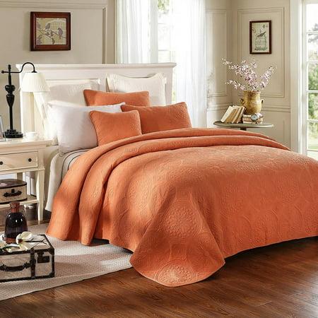 Tuscany Bedding - Tuscany Sunrise Bedspread Set by Tache Home Fashion