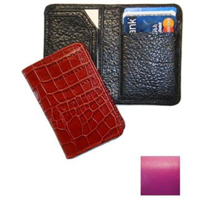 Raika RO 228 MAGENTA Credit Card Wallet - Magenta