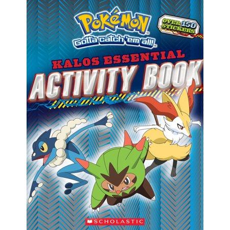 Pokemon (Scholastic): Pokemon: Kalos Essential Activity Book (Pokemon) (Paperback)
