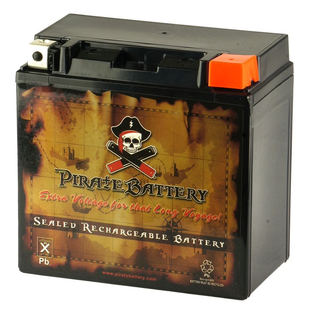 YB14L-A2 Motorcycle Battery for SUZUKI GS650 (All) 650CC 81-'83