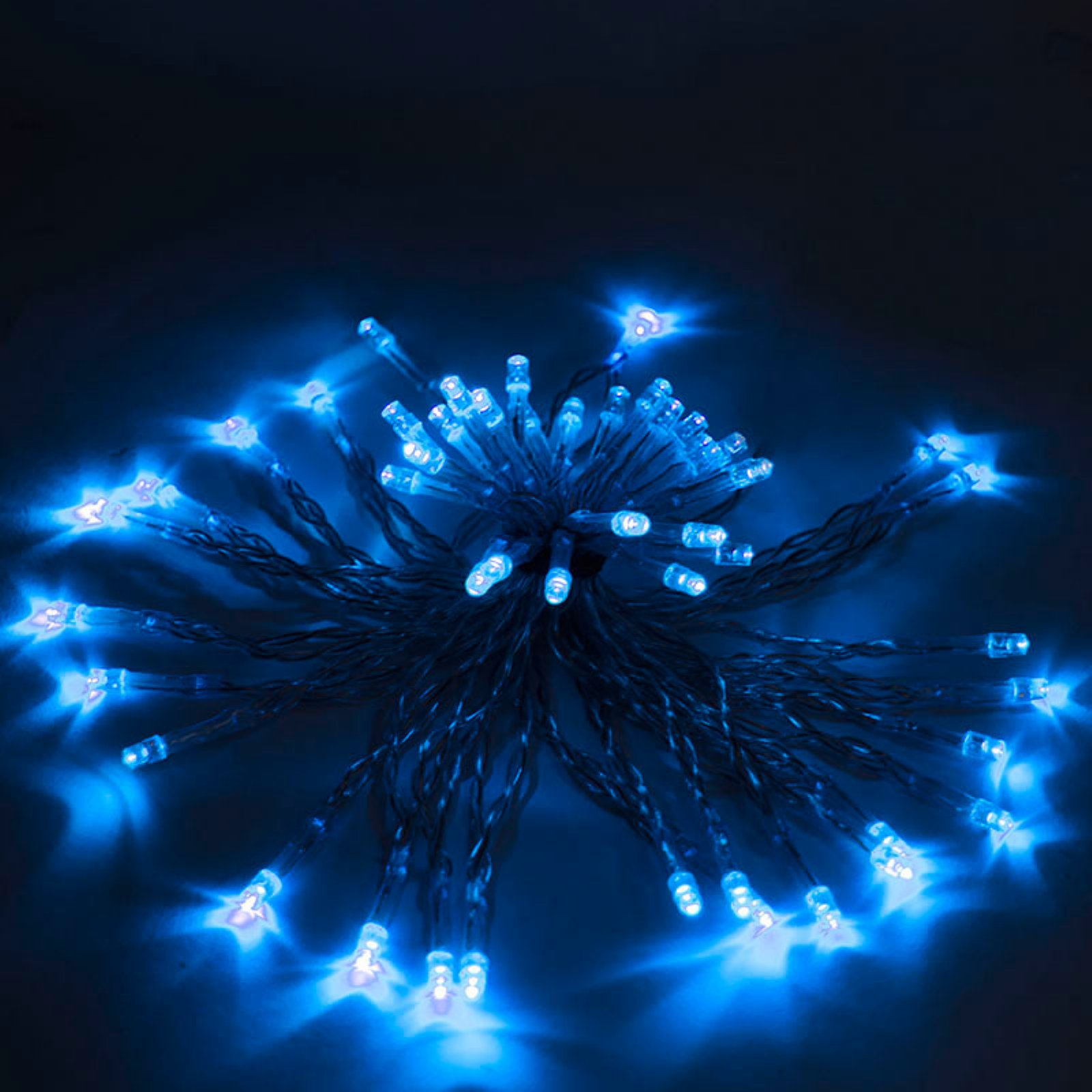 Aleko Products 50 LED Solar Powered String Lights