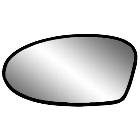 Pontiac Grand Am Mirror Glass - 88172 - Fit System Driver Side Non-heated Mirror Glass w/ backing plate, Oldsmobile Alero 99-04, Pontiac Grand Am 02-05, 4 5/ 8