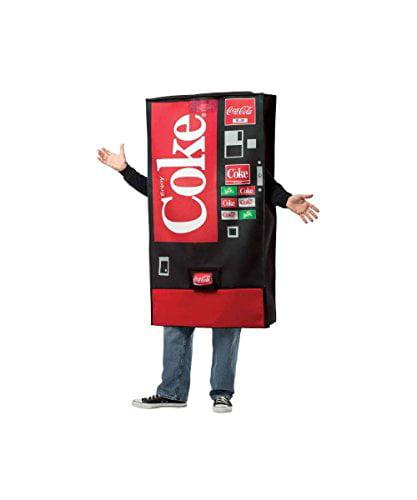 Rasta Imposta Coca-Cola Vending Machine Adult Costume