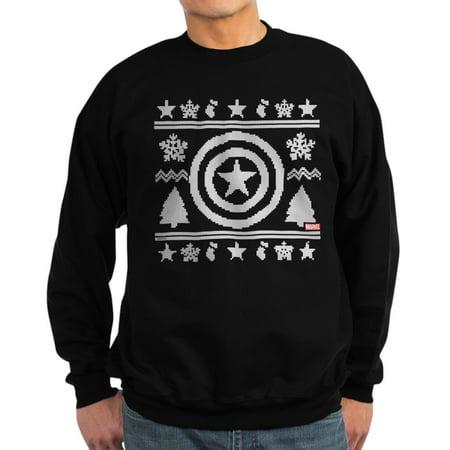 Captain America Christmas (CafePress - Captain America Ugly Christmas - Classic Crew Neck)