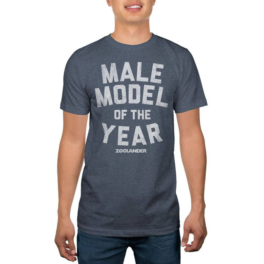 Zoolander Model of the Year Big Men's Graphic Tee