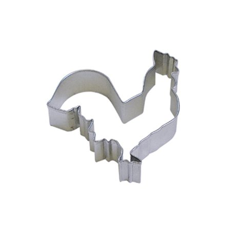 DMC41CC0917 Rooster Cookie Cutter, 4-Inch, High quality, steel cookie cutters in over 1000 designs By Dress My Cupcake](Toss My Cookies)