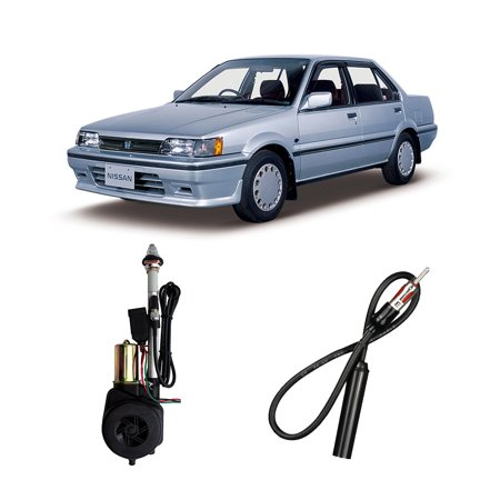 Nissan Pulsar 1990 Factory OEM Replacement Radio Stereo Powered Antenna Mast