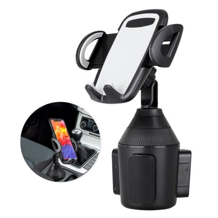 Car Cup Holder Phone Mount Adjustable Automobile Cup Holder Smart Phone Cradle Car Mount for iPhone 11/11 Pro XR/XS Max/X/8/7 Plus/6s/Samsung Galaxy S10+/Note 9/S8 Plus/S7 Edge