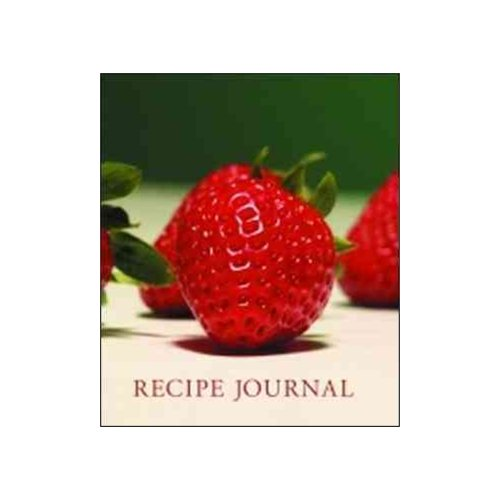 Recipe Journal - Strawberry