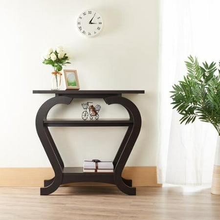 Furniture Of America Elissile Modern Espresso Console