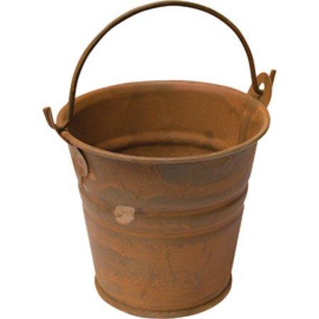 Rusty Tin Bucket, 2-1/4