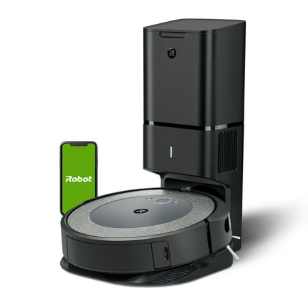 iRobot® Roomba® i3+ (3550) Robot Vacuum with Automatic Dirt Disposal Disposal - Empties Itself, Wi-Fi® Connected Mapping, Works with Alexa, Ideal for Pet Hair, Carpets
