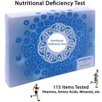 5Strands | Affordable Testing | Nutritional Deficiency Test | at Home Hair Analysis Kit | Tests Over 115 Nutritional Deficiencies | Key Vitamins, Minerals, Amino Acids | Results in 7-10 Days | 1 Pack