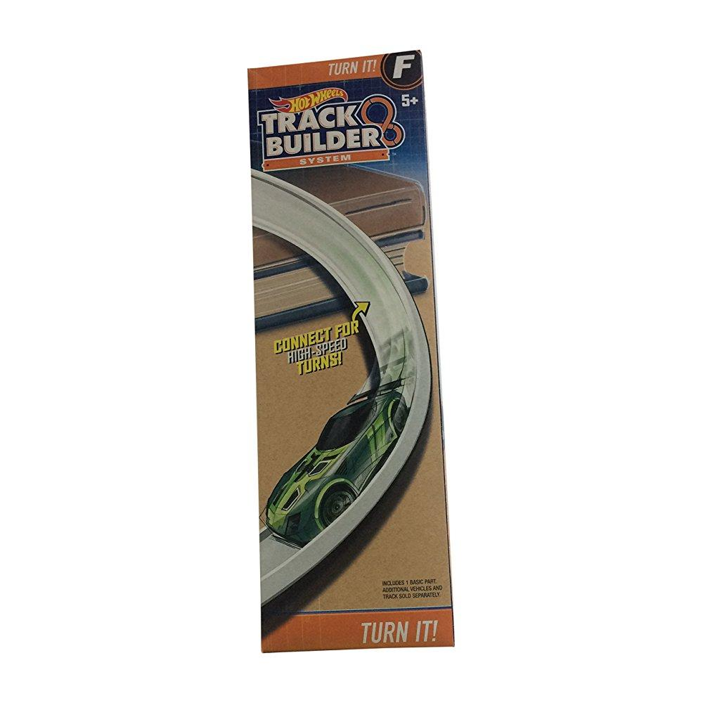 Hot Wheels Track Builder Turn It Curved Track Set F by