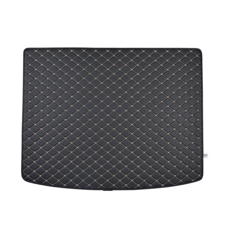 Ford Bronco Cargo Liner - Motor Trend Leatherette Trunk Custom Fit Mat Cargo Liner - Luxury Padded PU Leather - For Ford Escape 2013 - 2016