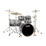 PDP by DW Concept Maple 6-Piece Shell Pack Silver to Black Fade