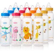 Evenflo Zoo Friends Baby Bottle With Anatomic Ni