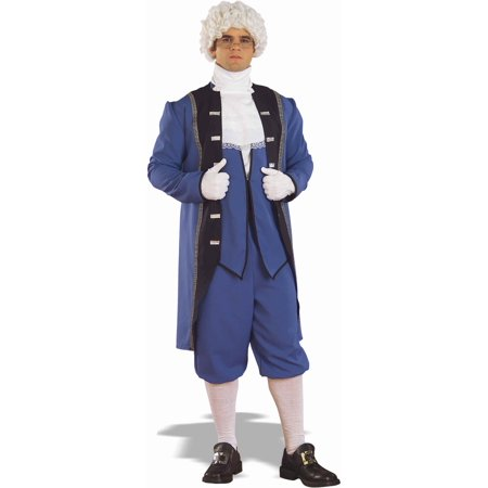 Colonial Costume George Washington Town Crier Adult X-Large Jacket Coat Knicker - image 1 of 1