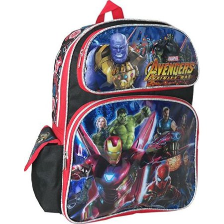Mavel Avengers Infinity War 12 inches Small Backpack