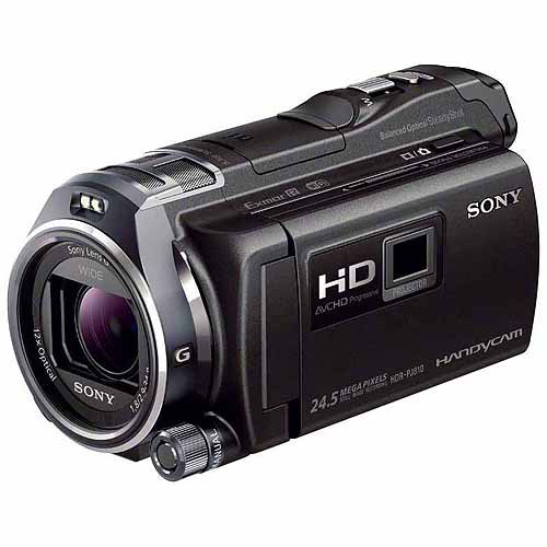 Sony HDRPJ810/B Video Camera with 3-Inch LCD (Black)