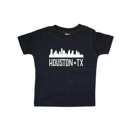 Houston Texas Skyline TX Cities Baby T-Shirt - Halloween Houston Tx