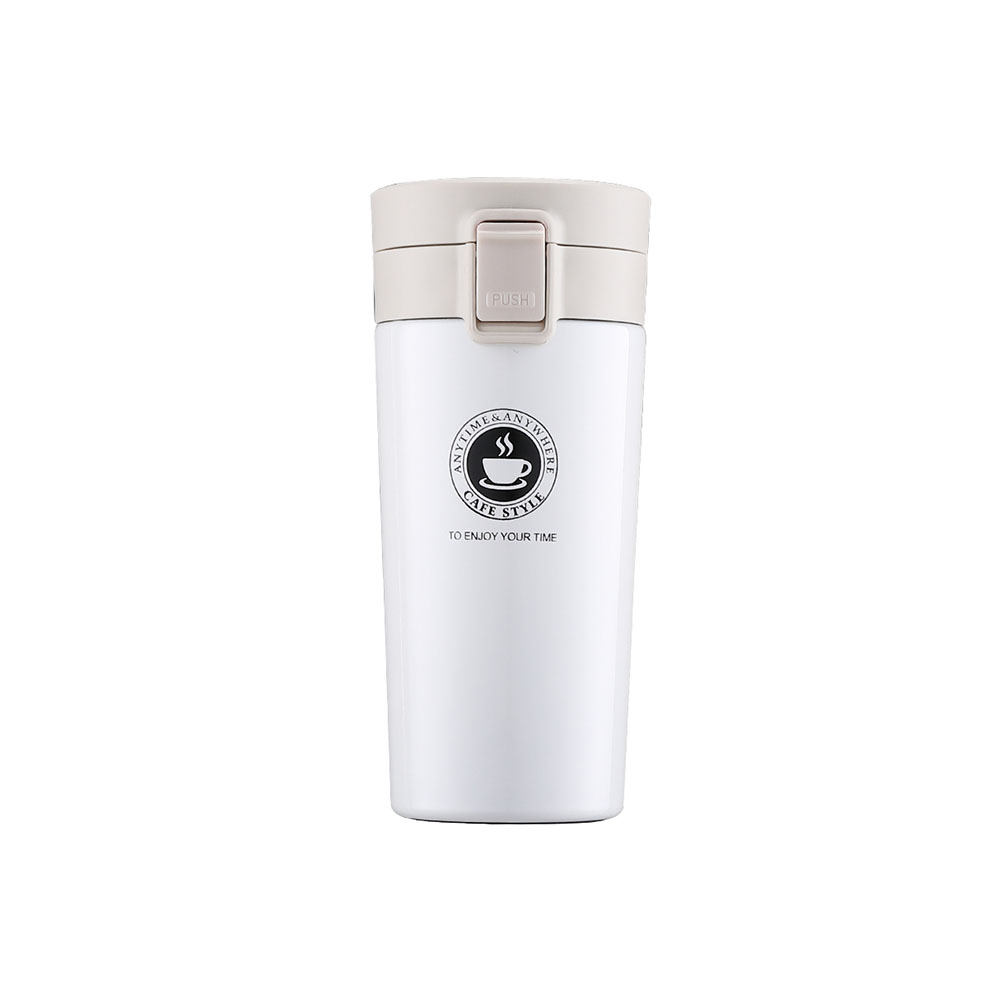Insulated Travel Coffee Mug Cup Thermal Stainless Steel Flask Vacuum