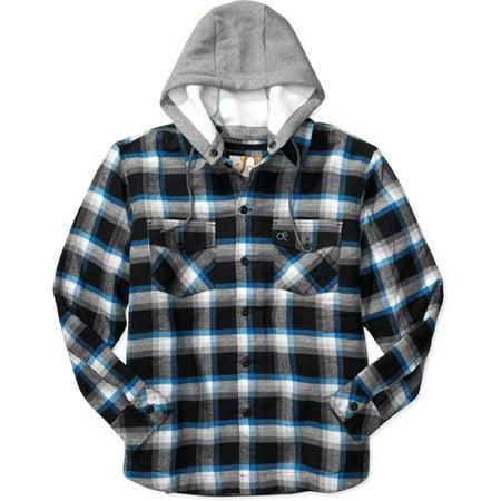 Fleece Lined Flannel Shirt Mens