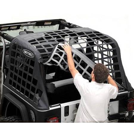 Smittybilt 1997-2006 Jeep Wrangler TJ C-Res Cargo Restraint System Black Diamond 561035