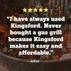 Kingsford Original Charcoal Briquets for Grilling, 16 Pounds