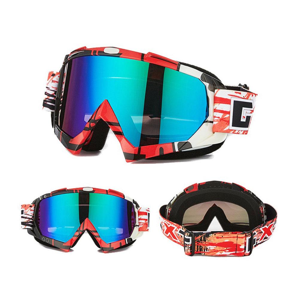 Motocross Racing Bicycle Goggles Motorcycle Glasses Windproof Eyewear Outdoor