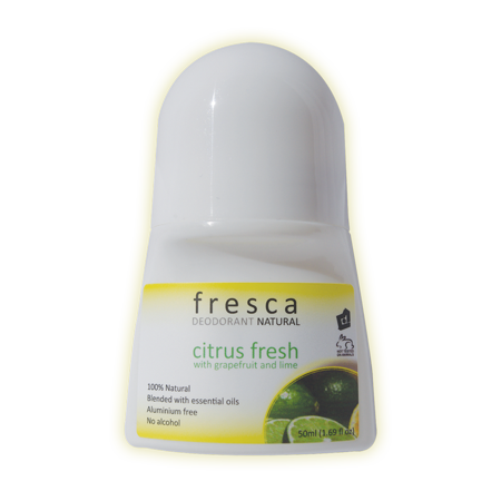 Fresca All Natural Deodorant Roll-On Vegan And Gluten Free