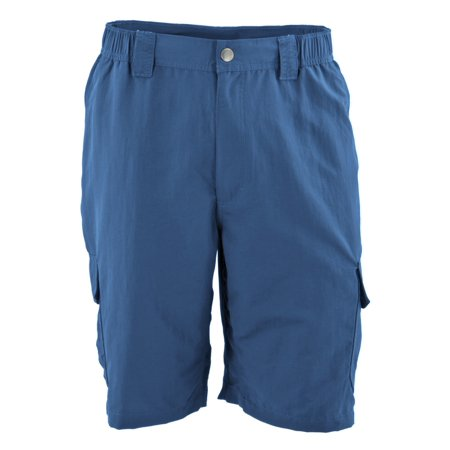 White Sierra Men's Rocky Ridge II 8'' Inseam Shorts Dark Blue L