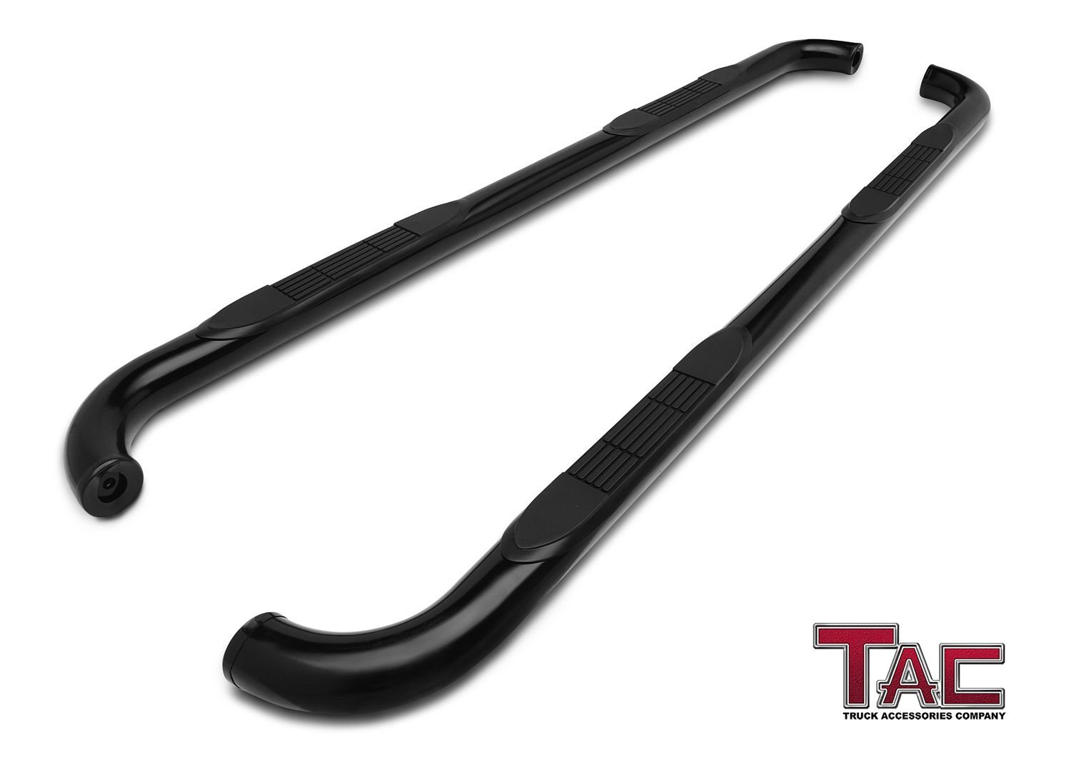 TAC Side Steps for 1998-2001 Dodge Ram 1500/2500/3500 Quad Cab / 1994-2001  Dodge Ram 1500/2500/3500 Club Cab Truck Pickup 3