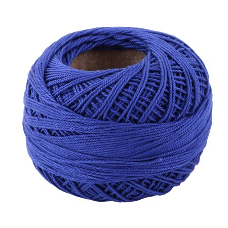 Crochet Spring (Dorm DIY Hat Weaving Sewing Crochet Knitting Yarn String Thread Royal Blue 60g)