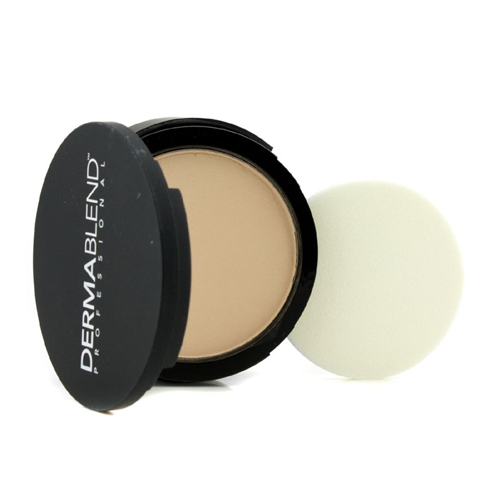Dermablend - Intense Powder Camo Compact Foundation (Medium Buildable to High Coverage) # Ivory - 13.5g/0.48oz