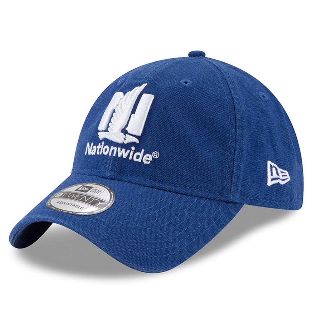 Dale Earnhardt Jr. New Era Core Classic Primary 9TWENTY Adjustable Hat - Royal - OSFA