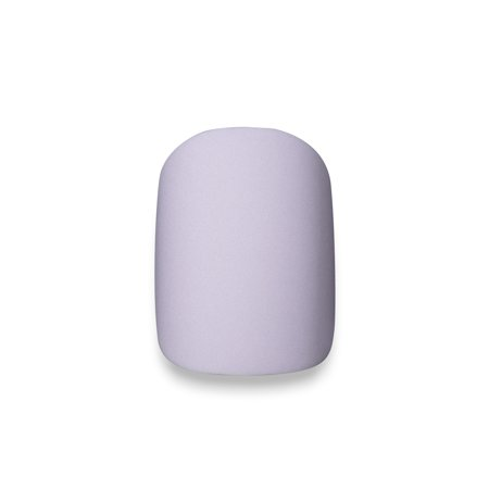 Clutch Nails Pastel Periwinkle Short Matte False Nails, Fake Nails with Glue (Set of 24) - Halloween Glue On Nails