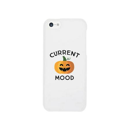 Pumpkin Current Mood Pumpkin iPhone 5C Case Halloween Phone Case](Fashion Story Halloween Iphone)
